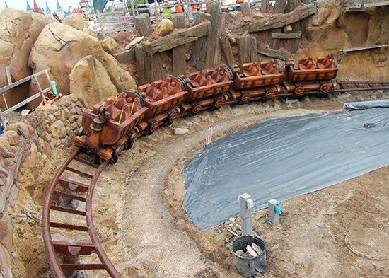 Seven Dwards Mine Train, New Fantasyland, Magic Kingdom Park