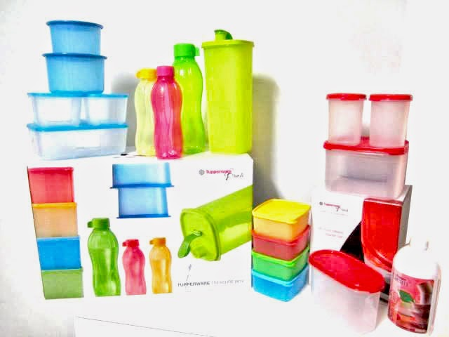 Set Tupperware Promosi Treasure Box