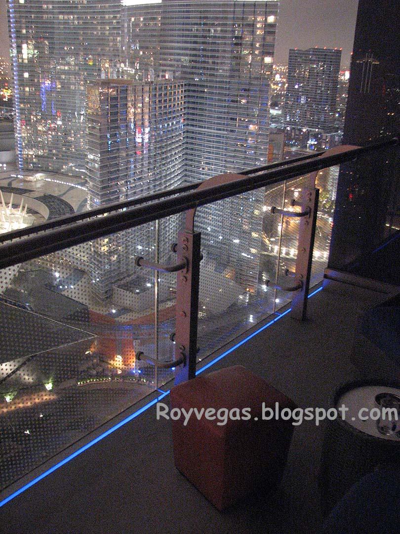 Cosmopolitan Balcony Night Las Vegas