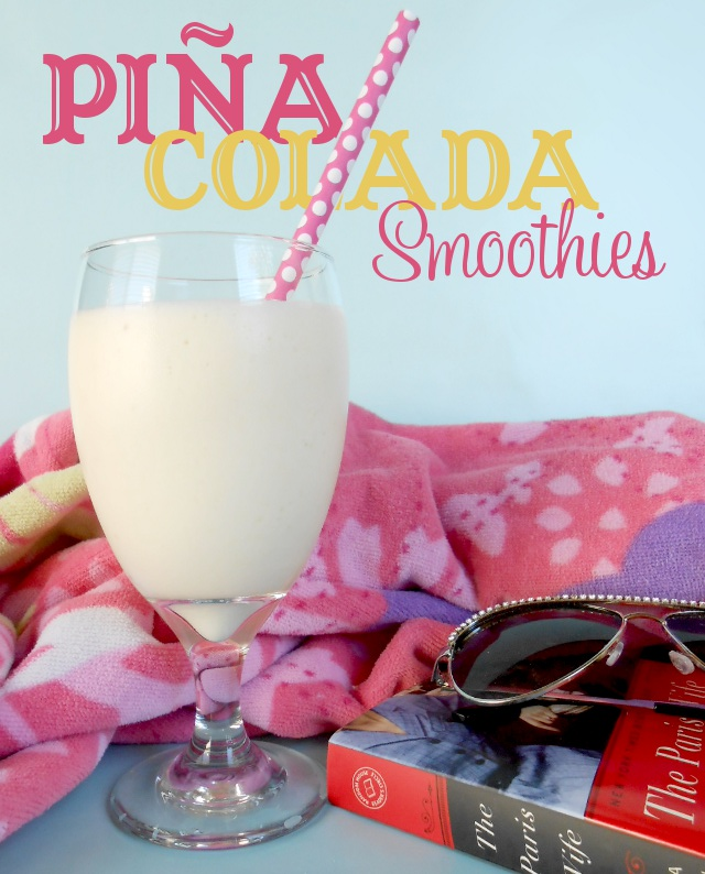 Pina Colada Smoothies from my3monsters.com