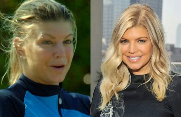 ستايسي آن فيرغسون فيرجسون فيرجى - fergie Stacy Ann Ferguson - shocking celebrities without makeup photoshop