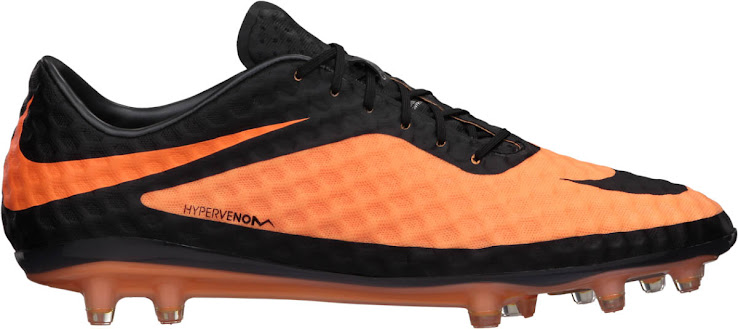 Erster Nike Hypervenom - Orange / Schwarz