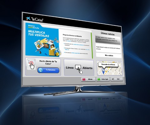 La Caixa sur Smart TV Samsung