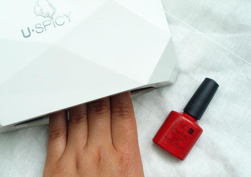 Shellac nails at home uk
