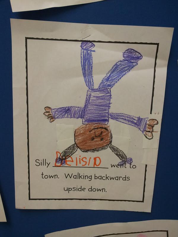 chalk talk  a kindergarten blog  silly sally class book