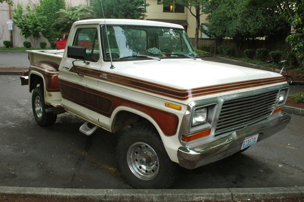 , Images of old parked cars 1978 ford f 150 custom stepside wallpaper