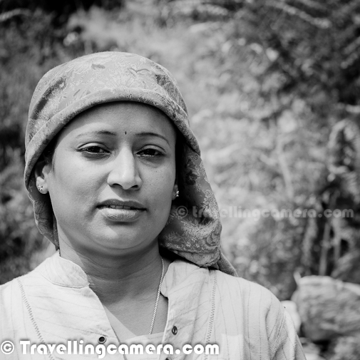 This Photo Journey shares some of the faces from Himalayan Mountain Terrain Biking 2011. Time has just come that HASTPA has started planning for 2012 event, which will happen in September. So I also thought of going through old photographs to recall wonderful memories with passionate people during MTB Himachal 2011...People from different walks of life meet at Shimla and a new journey starts on their bikes(Cycles). This is more about their passion. Leaving their fast lives of big cities, they come for 8 days of riding in Himalayas. This one week outing gives them pleasure for rest of the year. Although many of them keep riding throughout the year, but  such events have a different kind of fun.This is the time when they get to meet with Cyclists from different parts of the world and exchange their thoughts/experiences. Apart from the opportunity to meet other like-minded folks, MTB Himalaya also provides a wonderful opportunity to explore parts of Himachal which are least explored..Apart from Cyclists, we also get a chance to meet local folks. These interactions happen in different forms - Sometimes around local tea stalls, at times conversations about locality and sometimes some traditional music/dance activities are organized during evenings...Here is a photograph of a great folk singer, who was sharing some knowledge about regional musicDuring MTB Himalayas, we also met some extremely passionate people with varied interests, who are make the journey more interesting.Most of the folks in this group have extreme passion about one or another thing. Some part of it was apparent from the looks and some has to be explored after few minutes of conversation...Here is a photograph of old champion of MTB Himalayas. Padam Subba who has won MTB Contest many times and now his trained Ajay Chettri is winning MTb Himalayas for last two years.MTB Himalayas is organized by some experienced people who know all the terrains very well and of-course Himachal Pradesh Government supports this event by appropriate security arrangements & Medical backup  in each part of the state. So there is a team which always moves with cyclists and some teams change from one place to other.There are some spiritual landmarks on the route and above photograph shows Priest of hatu temple (near narkanda) ..Trying local dresses can be one of the charm while in Himachal. Here one of the volunteer wearing 'Dhaatu', which is a cloth wrapped around head to save it from chilly winds of Himalayas.Different gadgets can be seen all around - Cameras, Video Recorders, GPS Trackers etc..Apart from Cycling, capturing natural beauty of Himachal Pradesh...Proper diet is important during MTB Himalayas, as everyone needs to ride throughout the day. (Usually between 8am to 5pm)... Water is must thing to take after regular intervals..Some people around us with always happy face make these journeys more interesting. Champ in above photograph is into Media, but a great multi-talent personality.More smiles to keep the environment lively all around..Here is one of the chief planner, who used to start the day with useful information and instructions. Everyone needed to follow him, if want to complete 8 days route successfully Meeting simple and happy people of Himachal is always great experience...