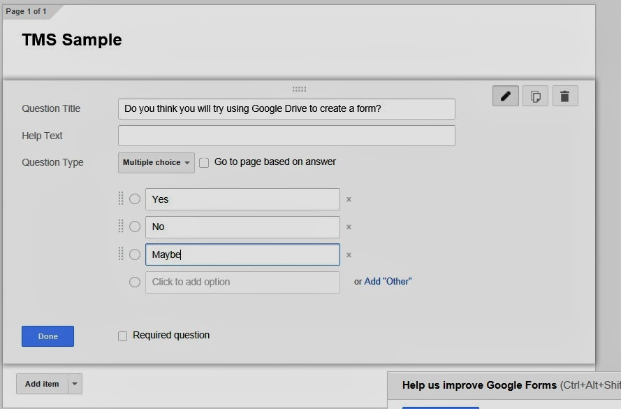 how to make a google drive for a group