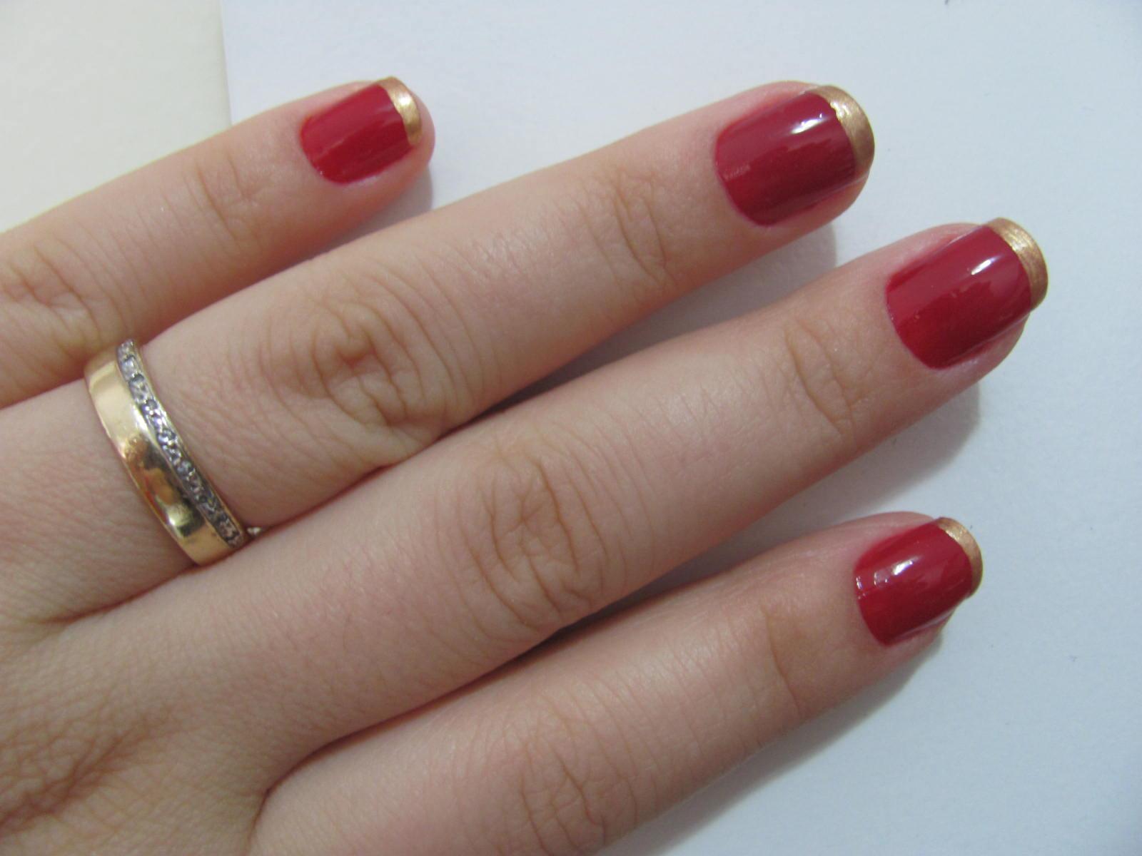Suficiente Erika MakeUp: Esmalte da Semana: Francesinha Dourada!!! SW13