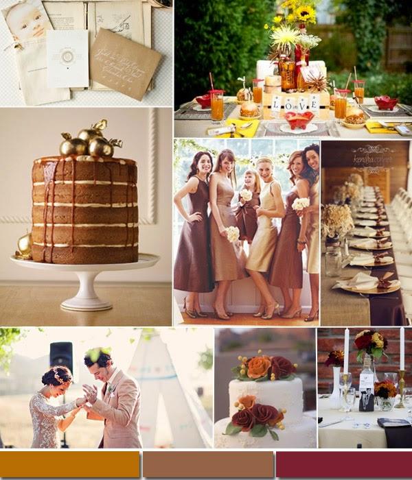 цветови тенденции 2015 в сватбите