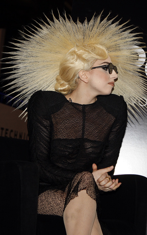Lady Gaga Crazy Hair