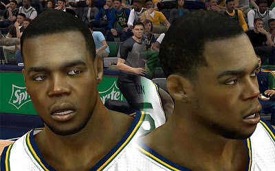NBA 2K13 Paul Millsap Cyberface Patch
