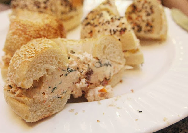 LES bagels tuscany mckinley hill awesome secret foodies tour