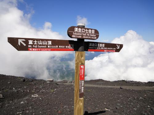 Mt Fuji Sign