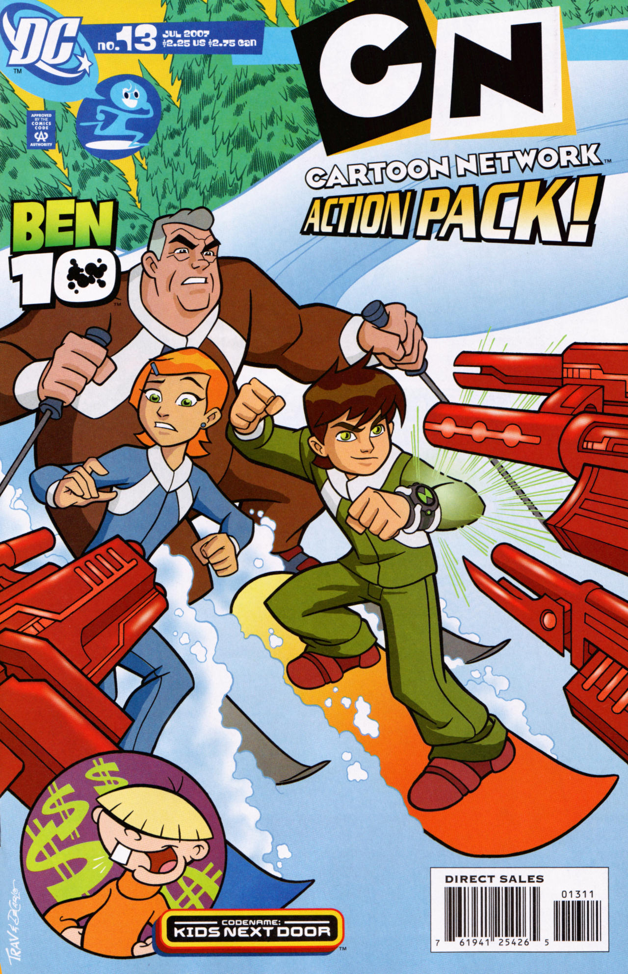 Cartoon Network Action Pack 13 Page 1