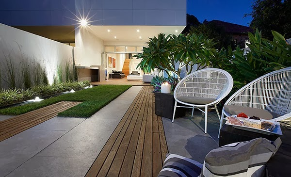 Garden Design Modern Home Beautiful And Elegant