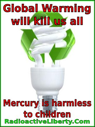 cfl global warming mercury children