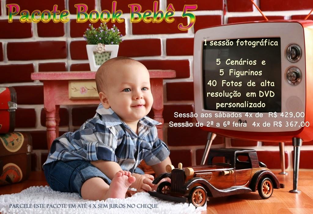 valores de fotos de book bebê em estúdio
