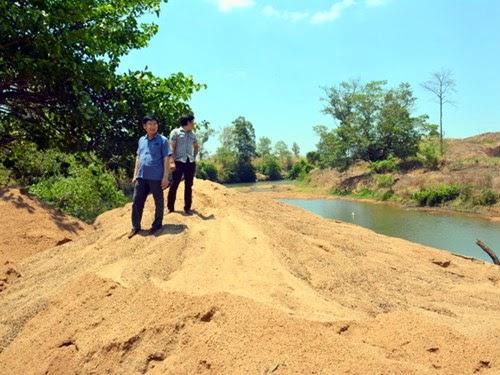 Gia Lai: Cần ngăn chặn nạn cát tặc ở Ia Mơr