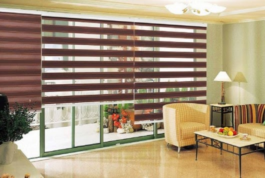 "Blinds ""Zebra"" in the interior"