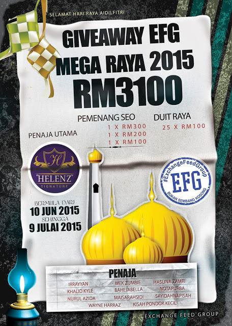 GA MEGA RAYA 2015  RM3100