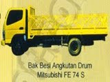 BAK BESI ANGKUTAN DRUM MITSUBISHI FE 74 S