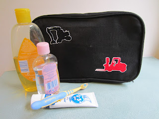 boys toiletry bag - iron n transfers
