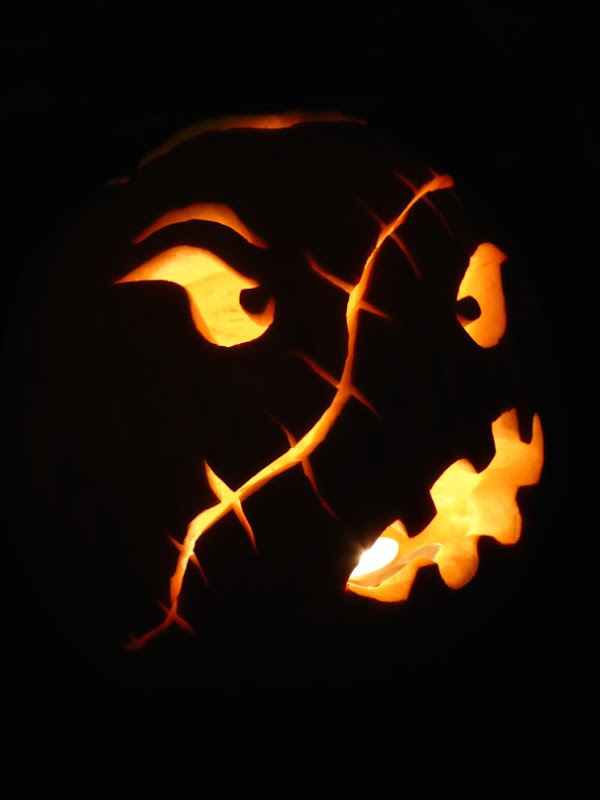 Halloween Jack O' Lantern design