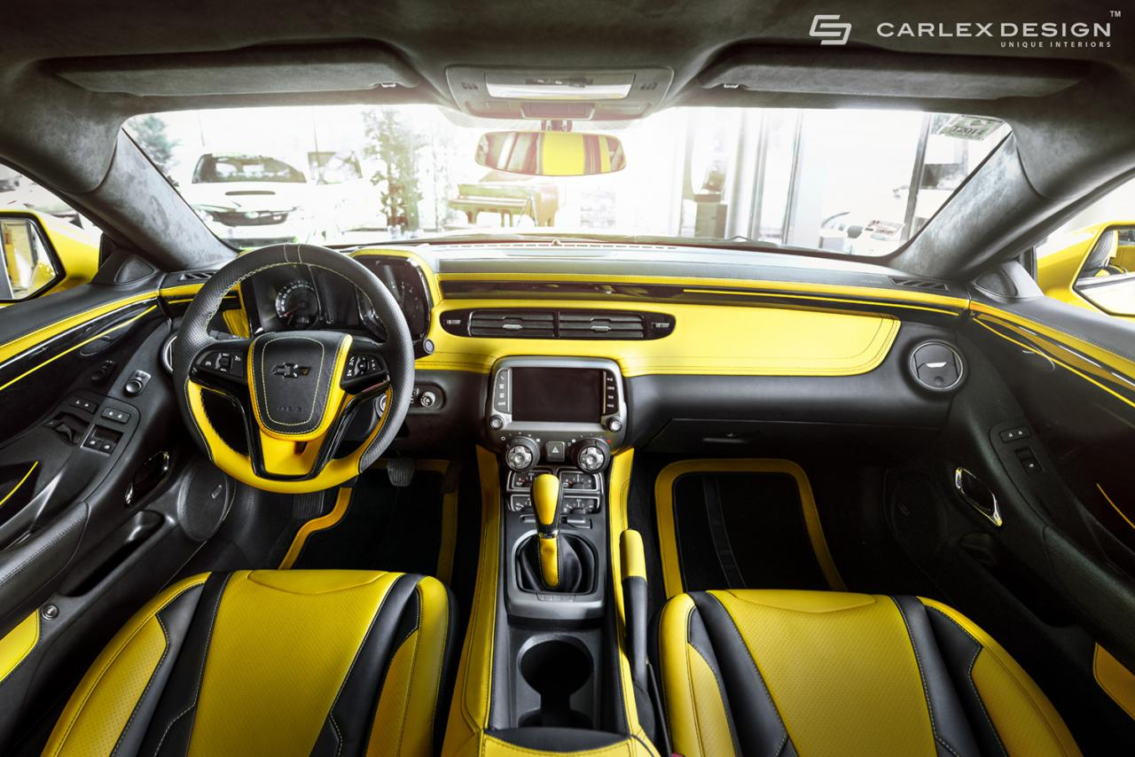 Chevrolet Camaro Zl1 By Carlex Design Car Tuning Styling