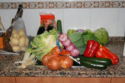 Verduras vive la fruta