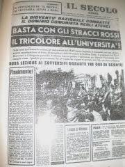 """""""IL SECOLO D' ITALIA"""""""