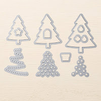 Stampin'UP!'s Perfect Pines Thinlit Dies