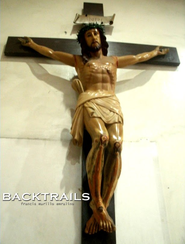 Interior Of The Adoration Chapel * Christ Crucified