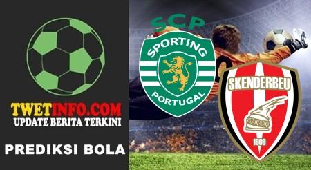 Prediksi Sporting Lisbon vs Skenderbeu