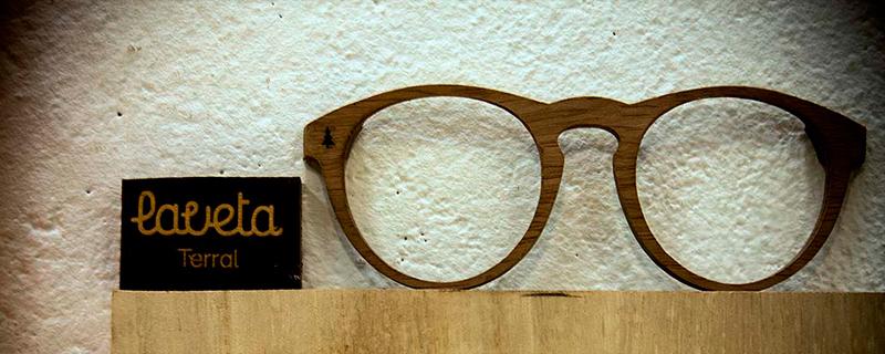 Laveta Eyewear, gafas de madera