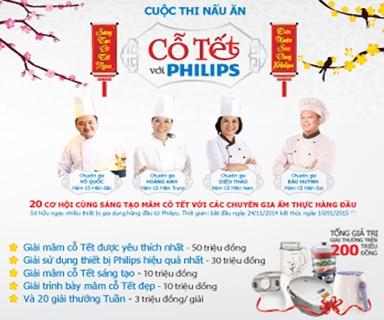cuộc thi nấu ăn Cỗ Tết với Philips