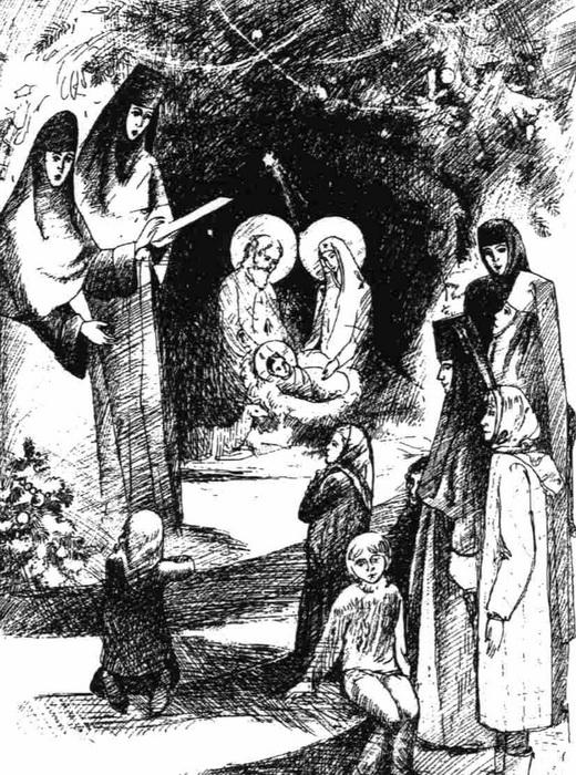 службы на рождество христово