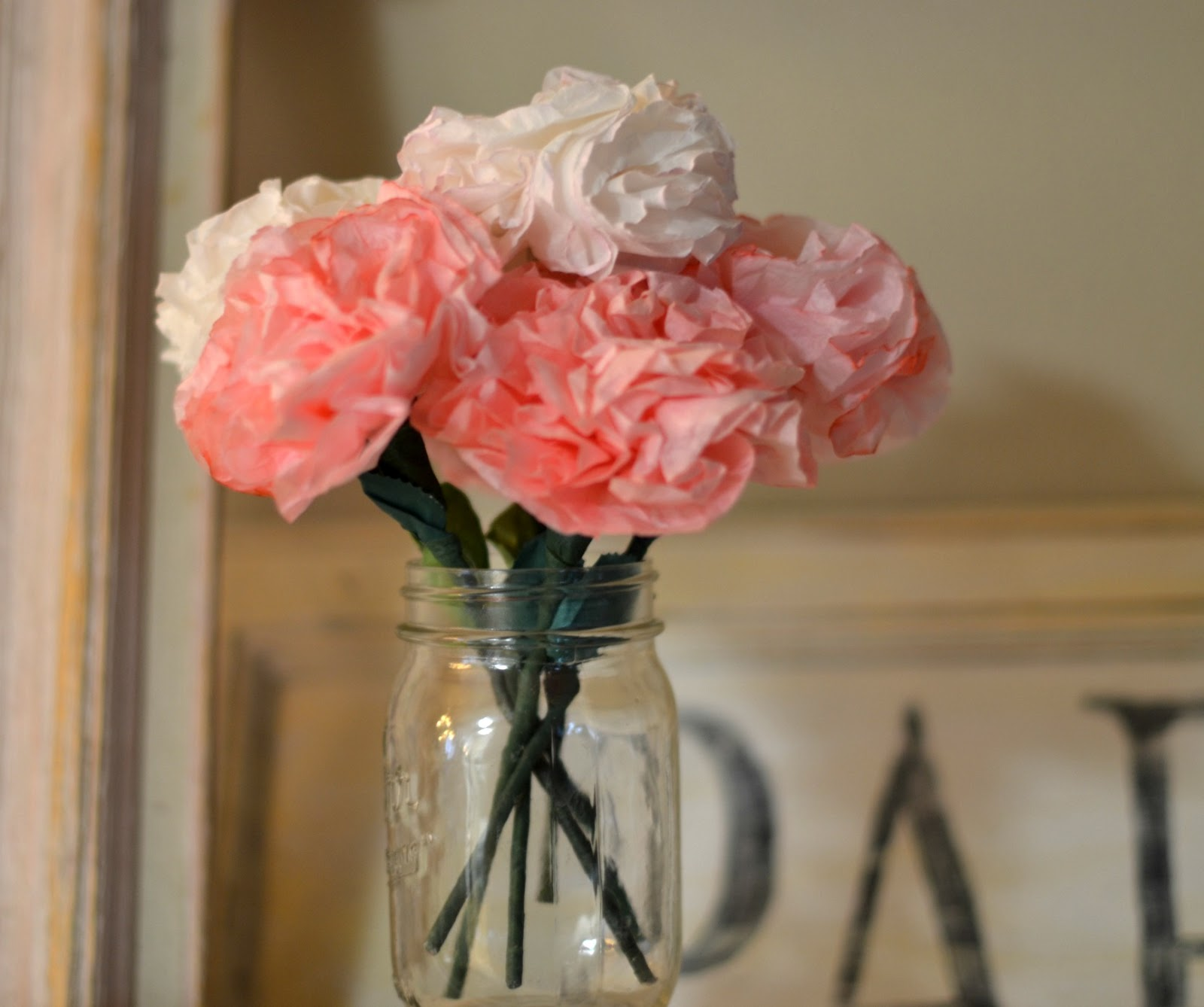 Olivias romantic home coffee filter roses coffee filter roses izmirmasajfo