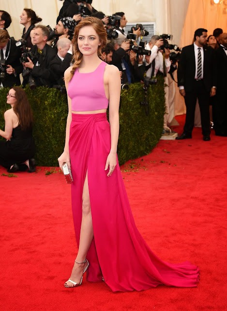 Emma Stone wore Thakoon at the Met Gala 14.