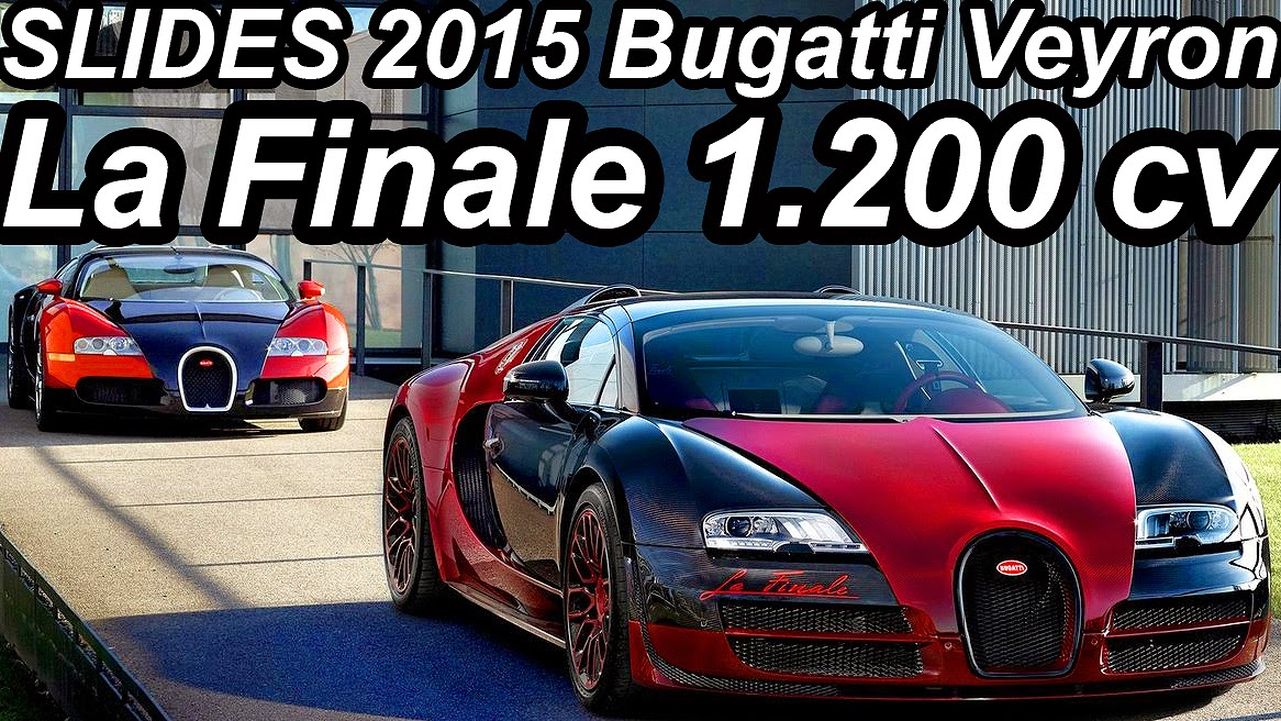 (from Bugatti Press Release) The Curtain Rises On An Icon! At The 2015  Geneva International Motor Show, Bugatti Is Celebrating The Veyron, ...