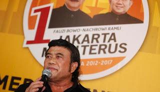 Rhoma Irama, Foke, Jokowi-Ahok, Kasus SARA