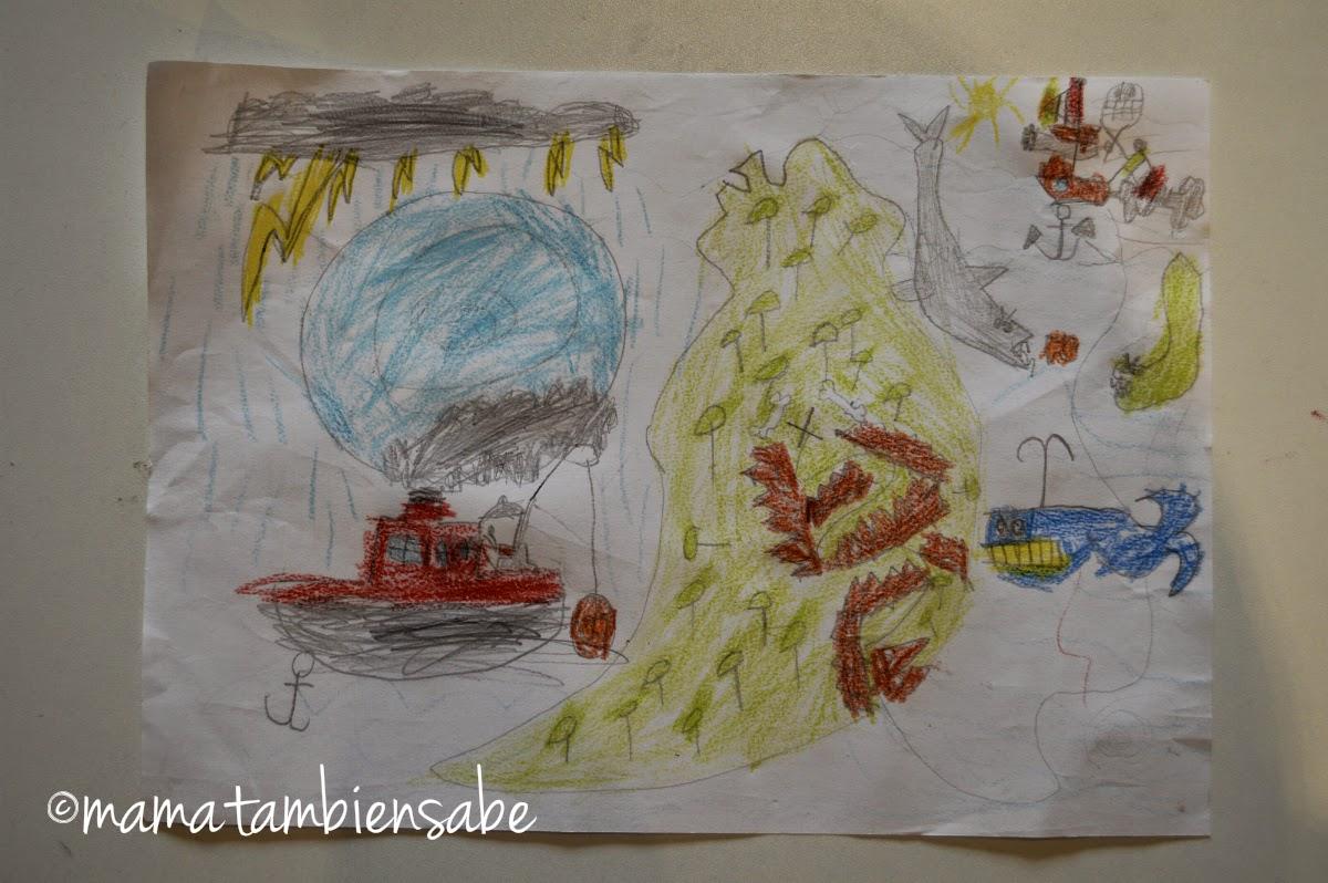 dibujo niño de 5 años