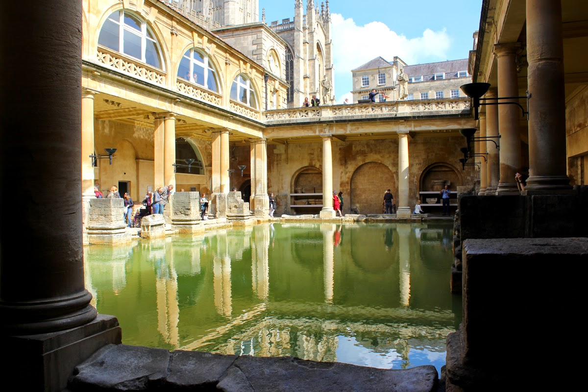 roman baths, wonderful place, awesome time, bath, day trips, todaymyway.com