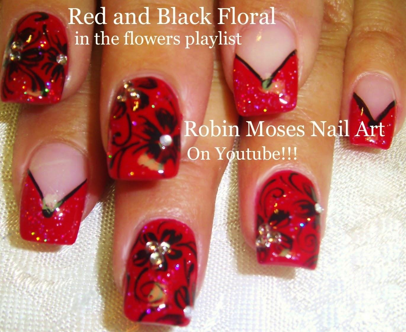 Red Nails Red Nail Art Red Nail Design Red Nail Tutorial