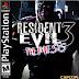 Resident Evil 3:  Nemesis ISO