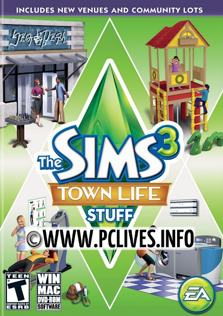 full and free download The Sims 3: Town Life Stuff