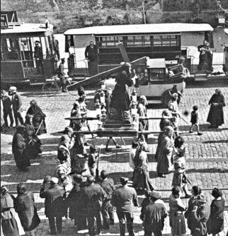 1929. Avda. del Puerto.
