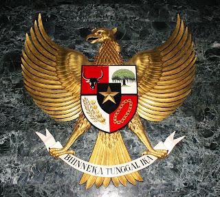 garuda negara indonesia lambang