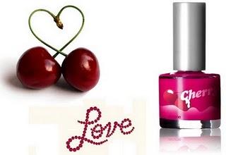 cosmeticos com cerejas