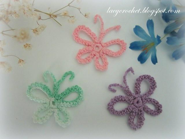 Crochet Butterfly : Lacy Crochet: Dainty Butterflies